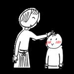 子供を褒める