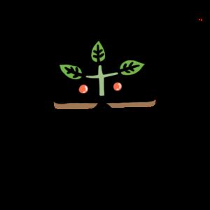 「来」植物が出て来る、実りがやって来るイメージ